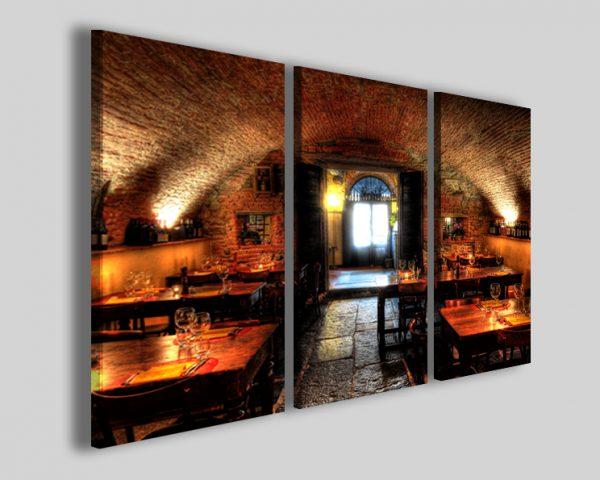 Quadri per enoteca Old winery stampe
