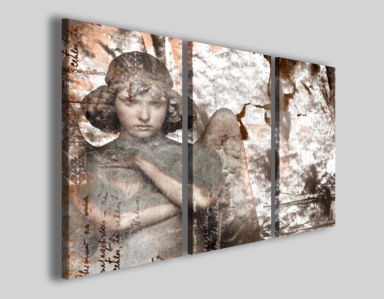 Quadri religiosi Angels II stampe su tela canvas - Quadri moderni ...