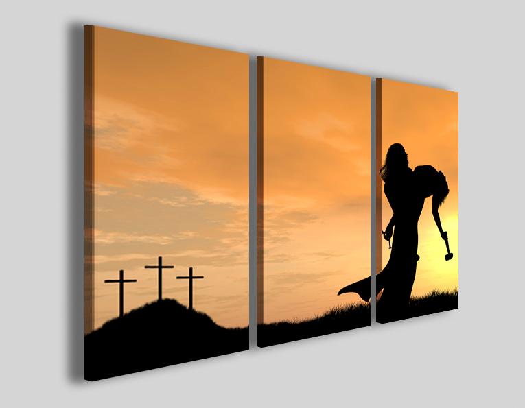 Quadri religiosi Il peccato gesù cristo stampe su tela - Quadri ...