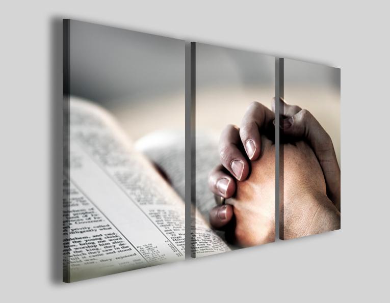 Quadri religiosi La bibbia stampe su tela canvas - Quadri moderni ...