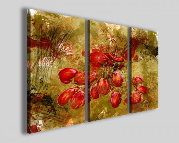 Quadro Abstract fruit graps