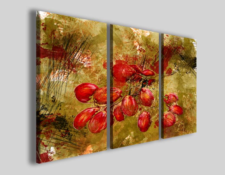 Quadro Abstract fruit graps