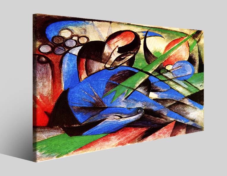 Quadro Franz marc XXIII stampa su tela canvas