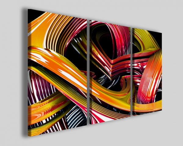 Quadro Plastic colors abstract