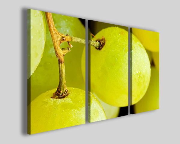 Quadro Uva frutta stampe su tela vino enoteca