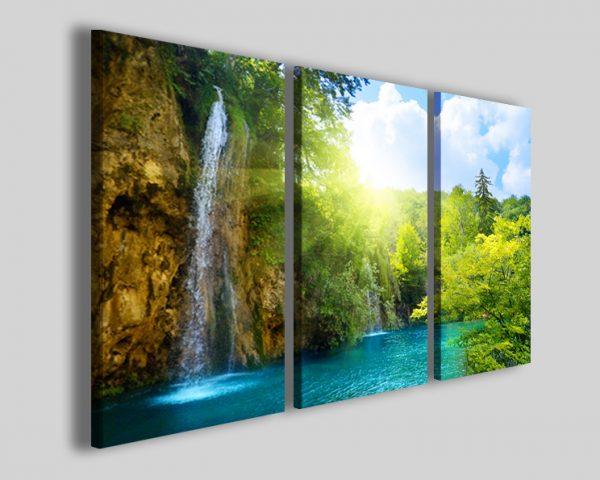Quadro Waterfalls I