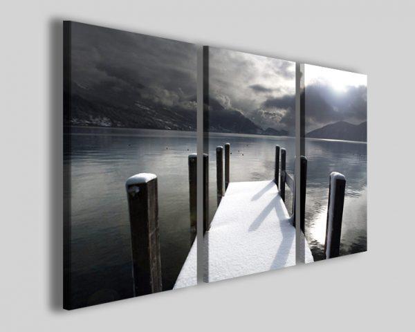 Quadro lago Lucerne lake stampe paesaggio