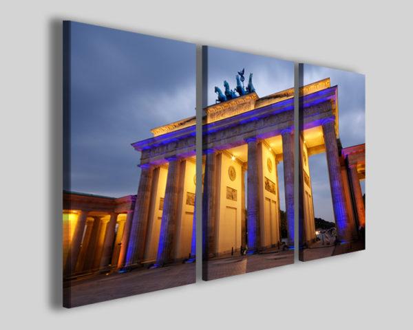 Quadro moderno Brandeburgo porta stampe su tela