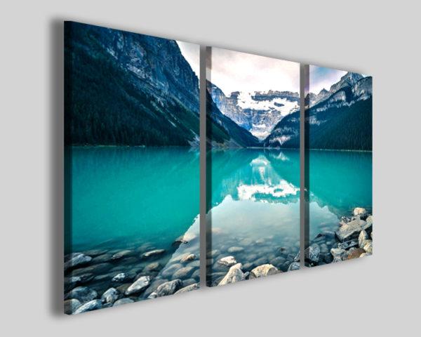 Quadro moderno Canada lake stampa su tela