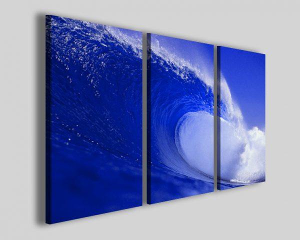 Quadro oceano onde Ocean roller stampe mare surf