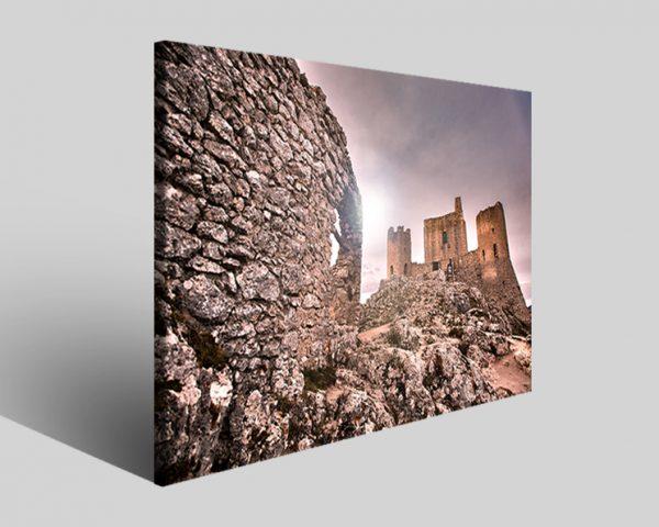 Stampe su tela Rocca Calascio castello I paesaggio