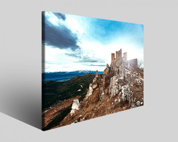 Stampe su tela Rocca Calascio castello II paesaggio