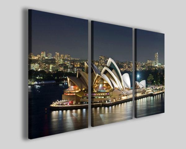 Quadri città Sydney stampe su tela canvas