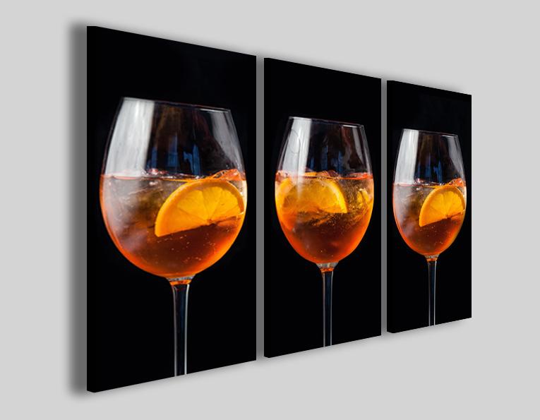 Quadri cocktail Spritz II stampe lounge bar arredo