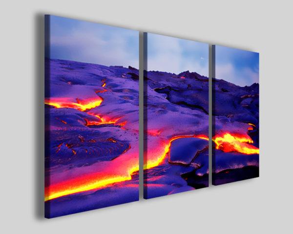 Stampe su tela Eruption quadri moderni