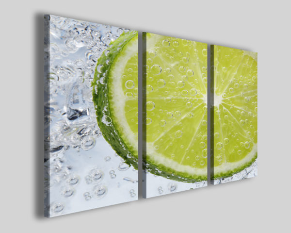 Stampe su tela Lemon refresh immagini lime bar quadro