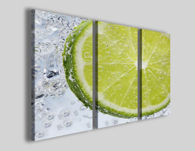 Stampe su tela Lemon refresh immagini lime bar quadro