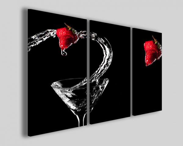 Quadro fragola cocktail
