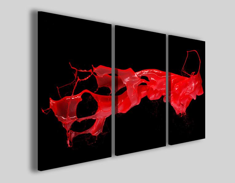Quadri astratti Suspension quadro su tela moderno