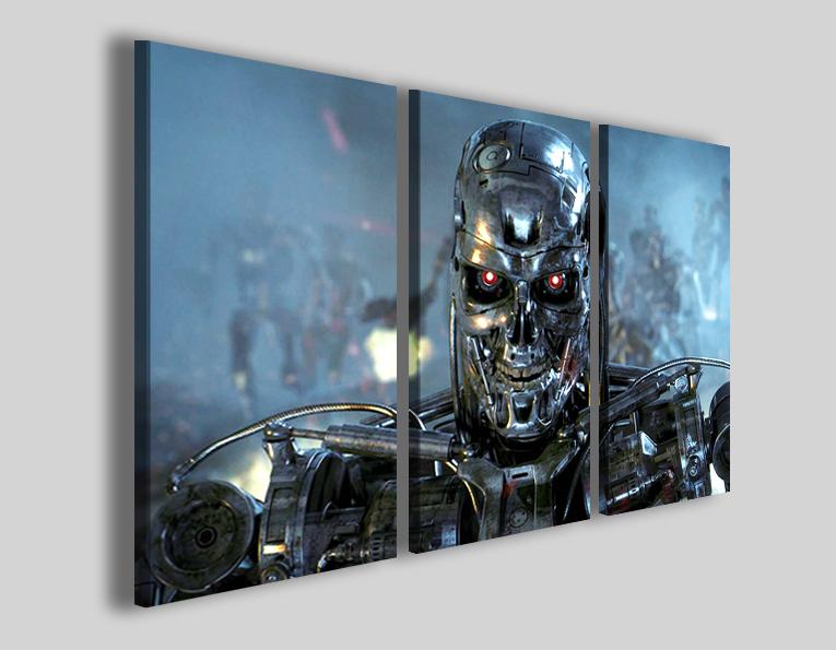 Quadri cinema Terminator stampe immagini film