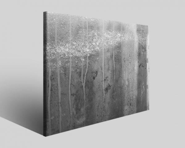 Quadro moderno astratto Tezt 123 stampa su tela