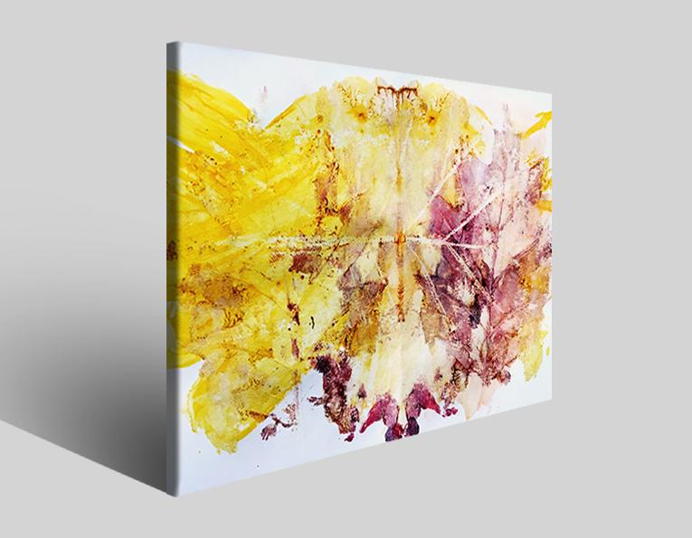 Quadro moderno astratto Tezt 223 stampa su tela
