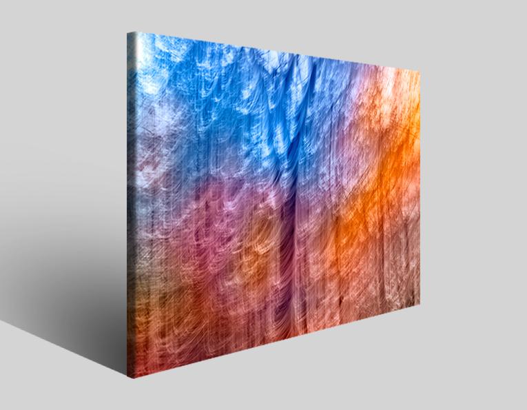 Quadro moderno astratto Tezt 227 stampa su tela