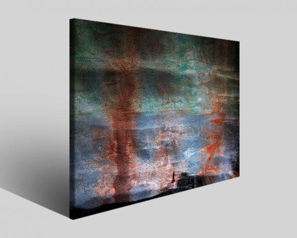 Quadro moderno astratto Tezt 288 stampa su tela