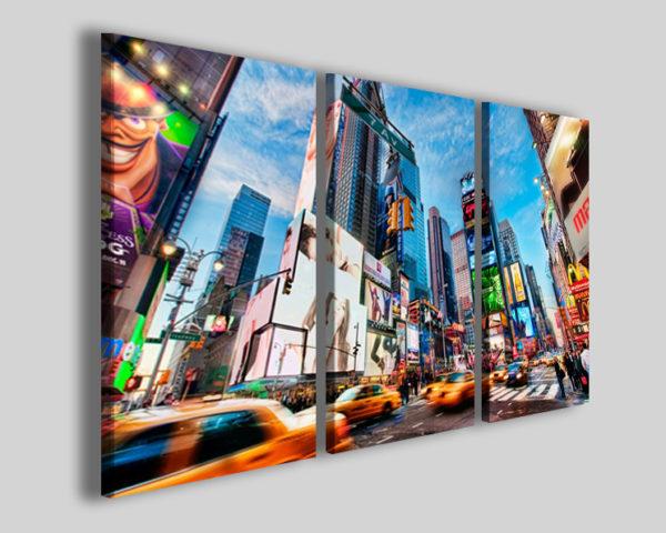 Quadri città Times square III stampe new york