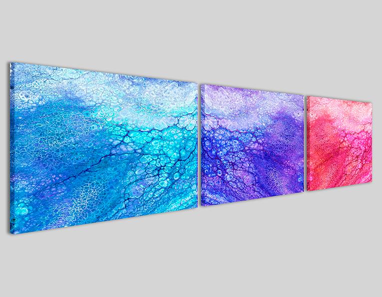 Quadro su tela Triclot Q3 stampe canvas moderne