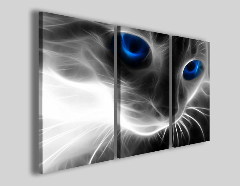 Quadro gatto True cat stampe animali gatti