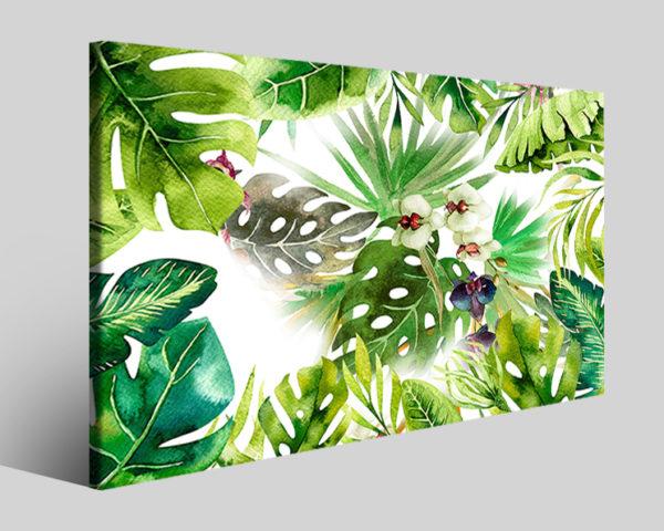 Quadri fiori Uragan stampe moderne natura su tela