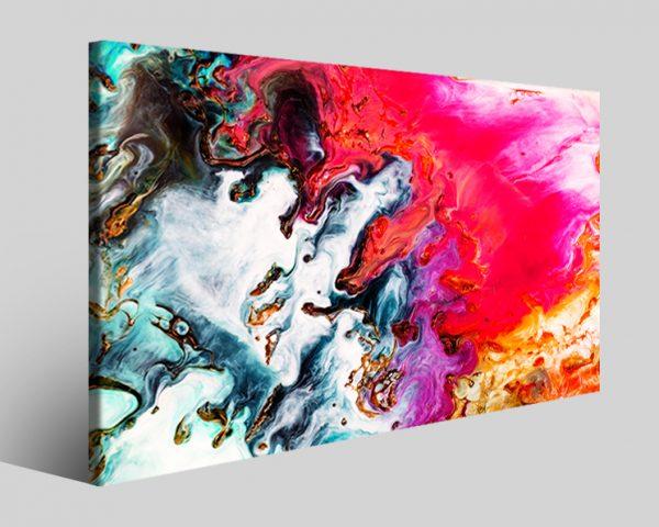 Quadro astratto Vibrant stampa su tela
