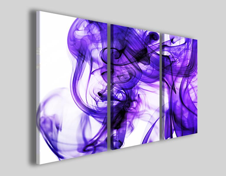 Quadri astratti Violet pleasure stampe astratte moderne