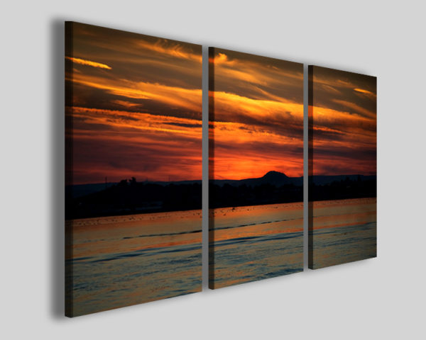 Quadri con tramonti Vulkanik stampe mare sole