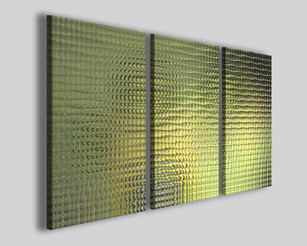 Quadri astratti Yellow retinate effect immagini moderne