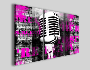 Quadro musica You're ready to sing stampe canvas