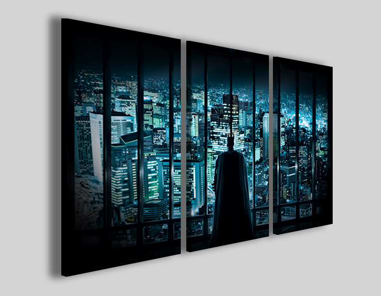 Quadro film Batman I stampe serie tv tele moderne cinema