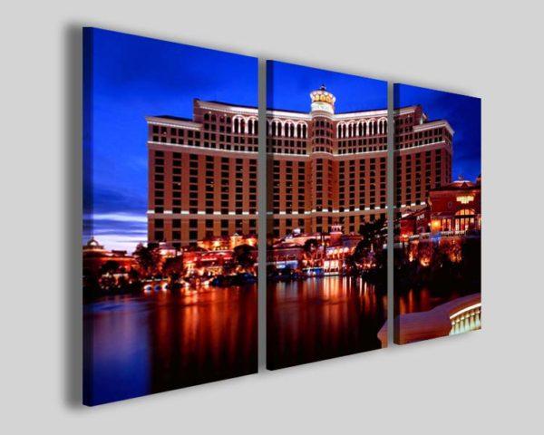 Quadri moderni Bellagio hotel Las Vegas stampe