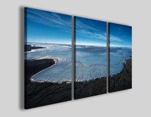 Quadro su tela Big falls stampa panorama