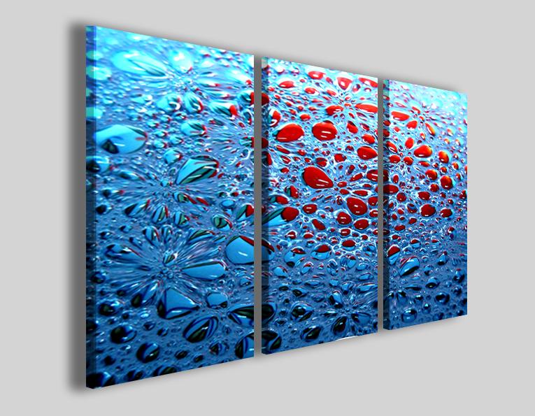 Tele astratte Bubble water quadri e stampe canvas