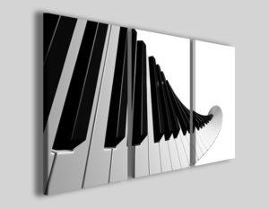 Quadri moderni Piano stampe bar musica pianoforte