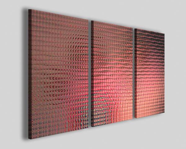 Quadri astratti Retinate effect stampe astratte canvas