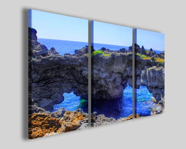 Quadri su tela Rock bridge stampe canvas paesaggi