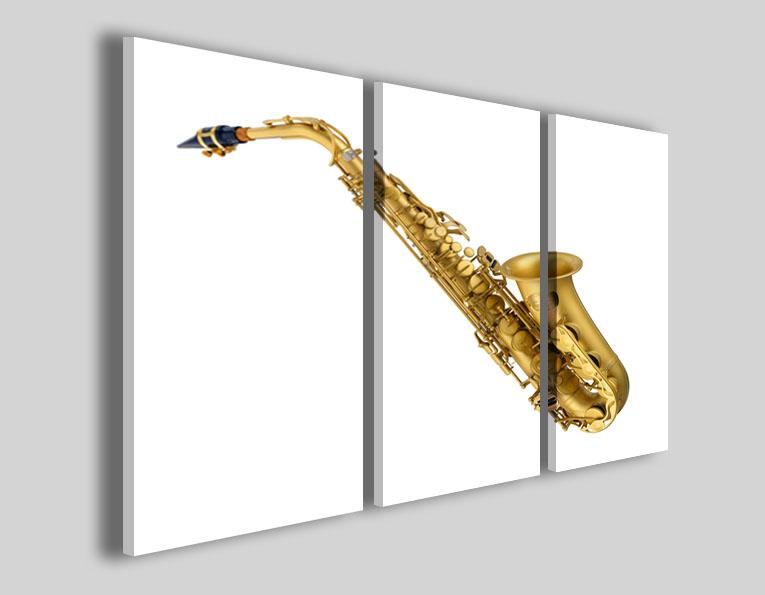Quadri musica Sax stampe strumenti musicali