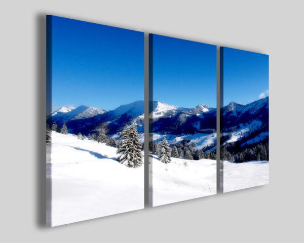 Quadro su tela Snow landscape I immagini montagne
