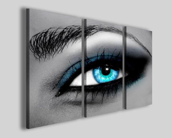 Quadri astratti Surreal eye stampe astratte moderne occhio
