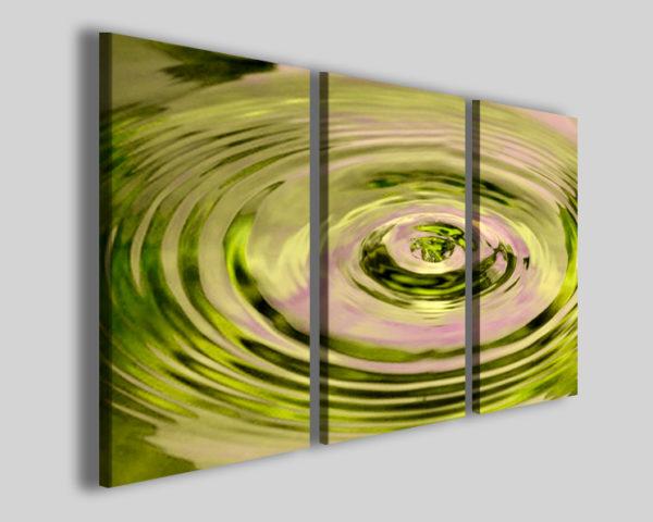 Quadro astratto Water vibration stampa moderna